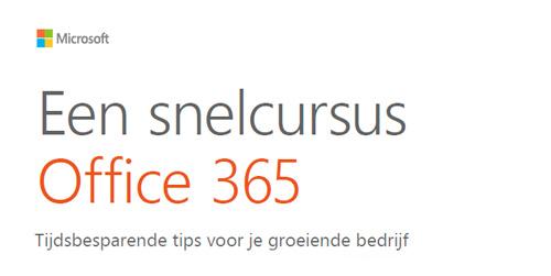 Snelcursus Office 365